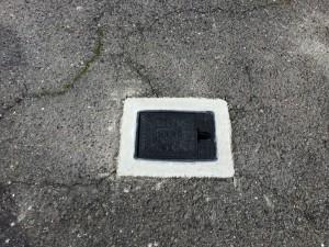 大府市 I様マンション駐車場 散水栓BOX取替え工事