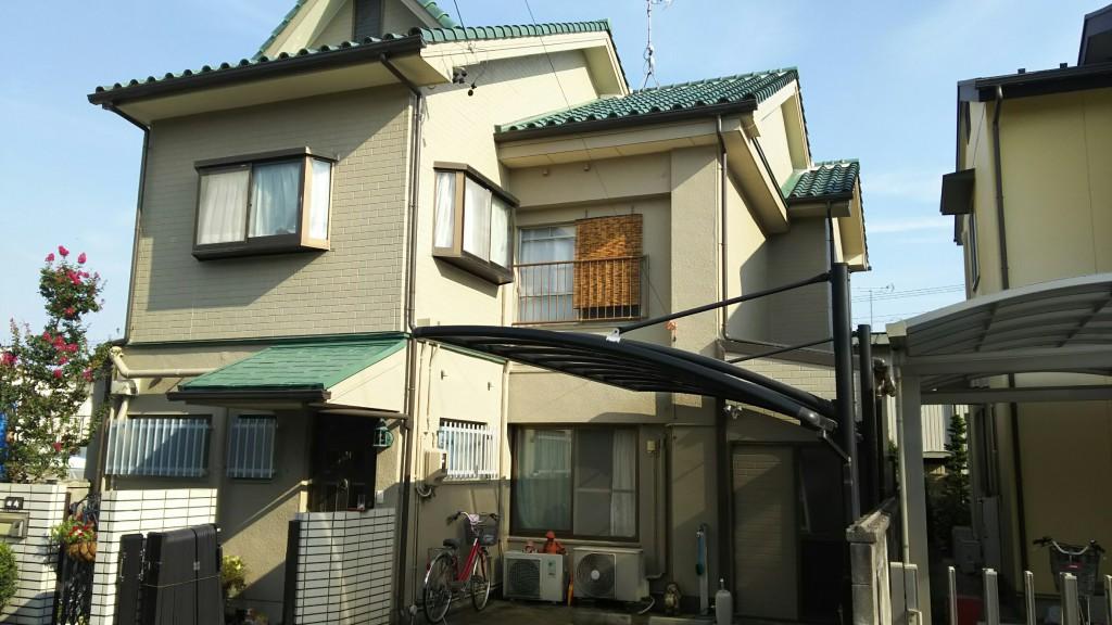 名古屋市 T様邸 外装工事施工前