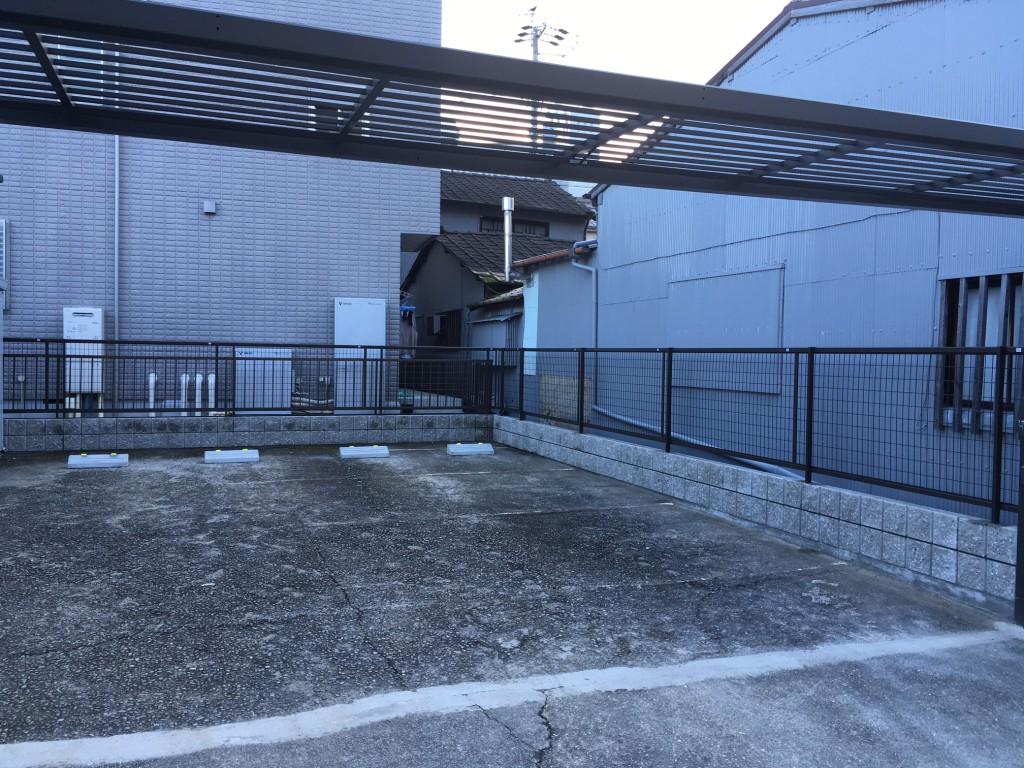 名古屋市 N様邸 駐車場工事施工前
