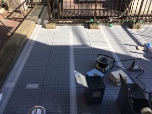 名古屋市 N様邸 ベランダ防水工事