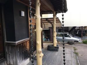 豊明市 A様邸 玄関柱取替工事