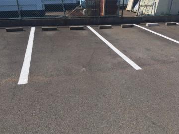 大府市 Iマンション 駐車場ライン引き工事