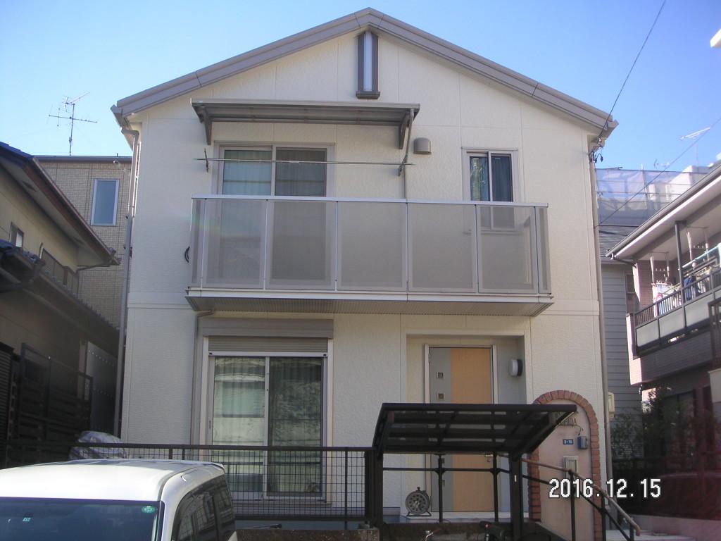 名古屋市 南区 Y様邸 外部塗装工事施工前