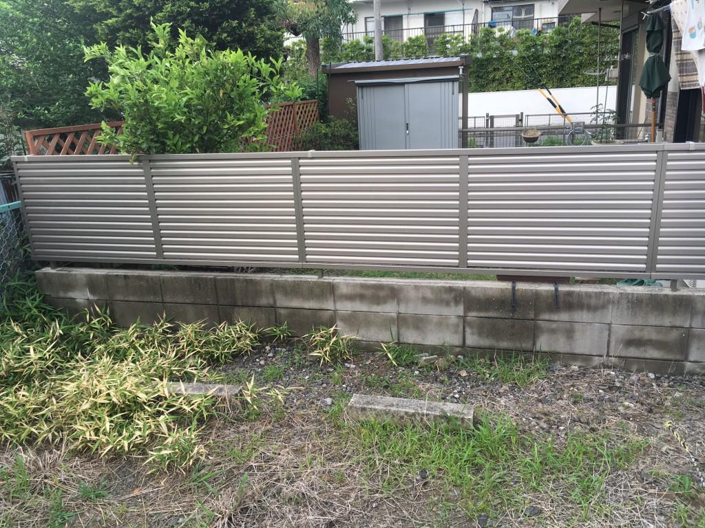 名古屋市 M様邸 外構補修工事施工前