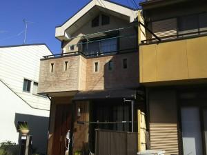名古屋市 W様邸 外部塗装工事