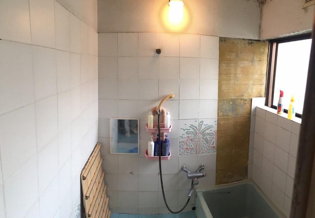 名古屋市 T様邸 風呂場改装工事施工前