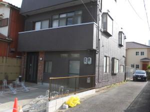 緑区 N様邸 改装工事 外部塗装工事