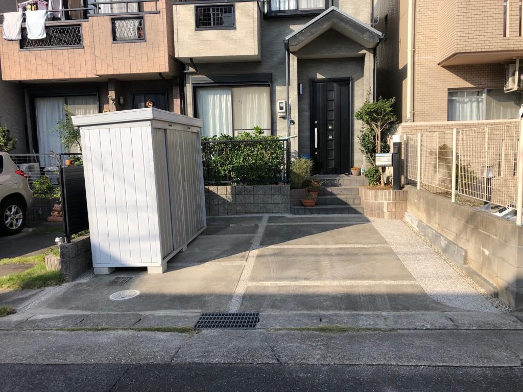 名古屋市 天白区 T様邸 外構工事施工前