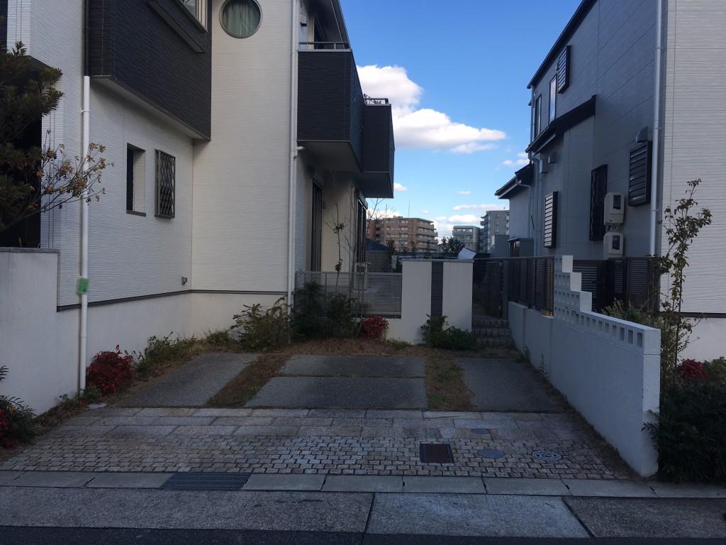 名古屋市 緑区 M様邸 外構工事施工前